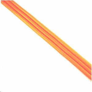 PAILLE Ø 5 INTER LONG. 600 ROUGE FLUO